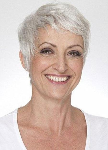 Photos Of Short Haircuts For Older Women | Short Hairstyles 2016 Intended For Older Ladies Short Haircuts (View 16 of 20)