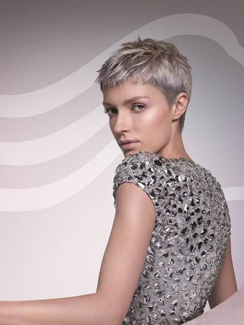 Photos: Short Ash Blonde Haircuts, – Best Hairstyles Library With Ash Blonde Short Hairstyles (View 19 of 20)