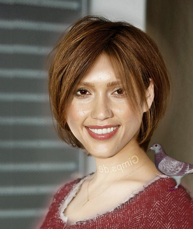 Pictures Of Photos – Short Haircuts Help Jessica Alba ]:= With Regard To Jessica Alba Short Hairstyles (View 18 of 20)