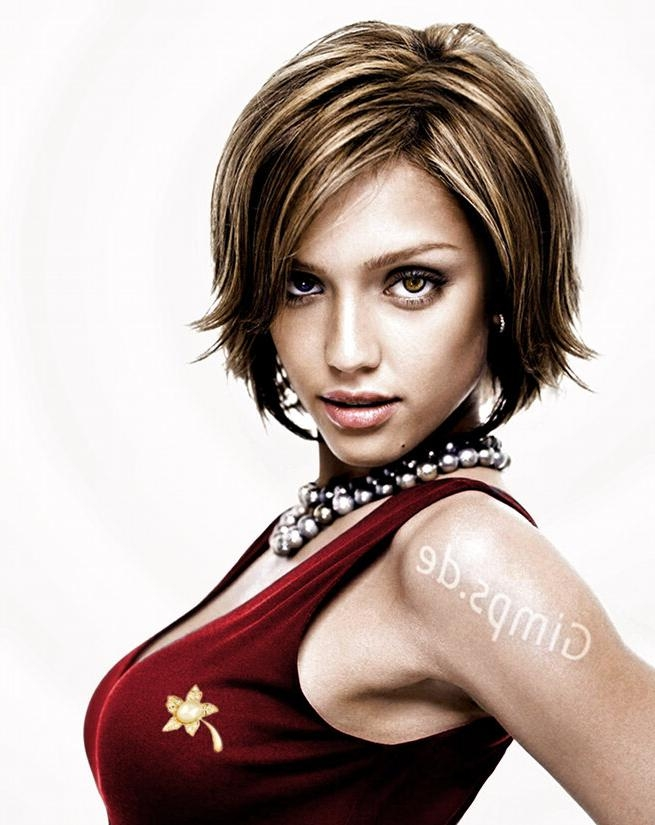 Pictures Of Photos – Short Haircuts Improve Jessica Alba ]:= Regarding Jessica Alba Short Hairstyles (View 19 of 20)