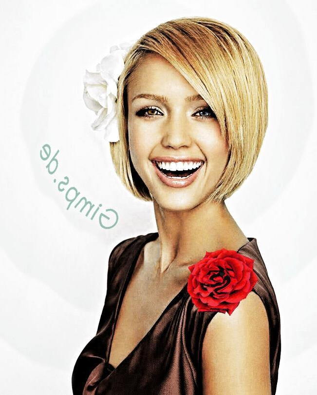 Pictures Of Photos – Styles Of Short Haircuts For Jessica Alba ]:= Within Jessica Alba Short Haircuts (View 10 of 20)