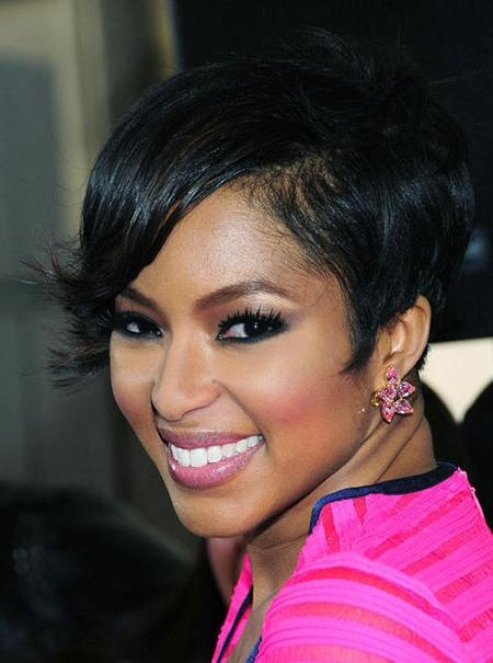 Featured Photo of Short Haircuts For Black Women With Thick Hair