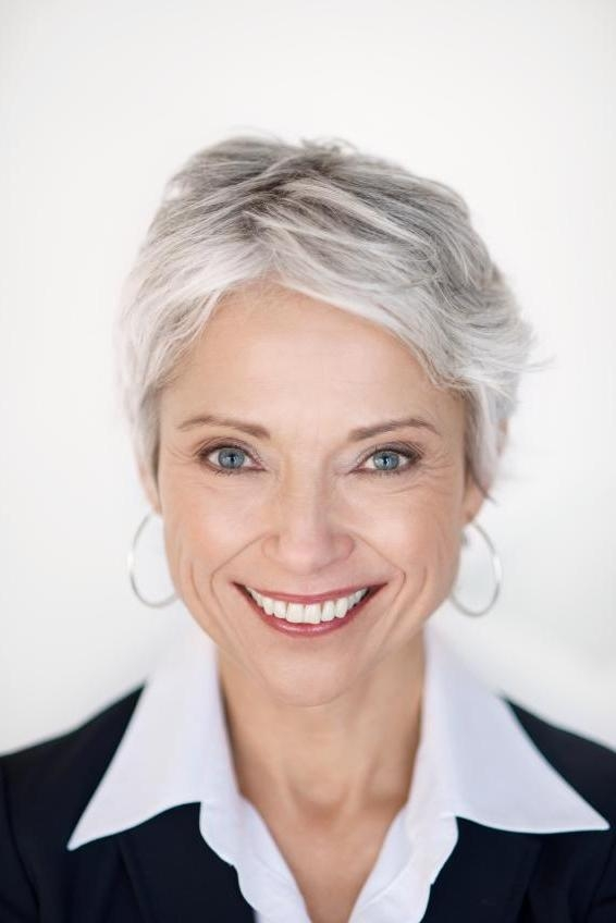Pictures Of Short Hairstyles For Gray Hair | Lovetoknow Pertaining To Short Haircuts For Gray Hair (View 19 of 20)