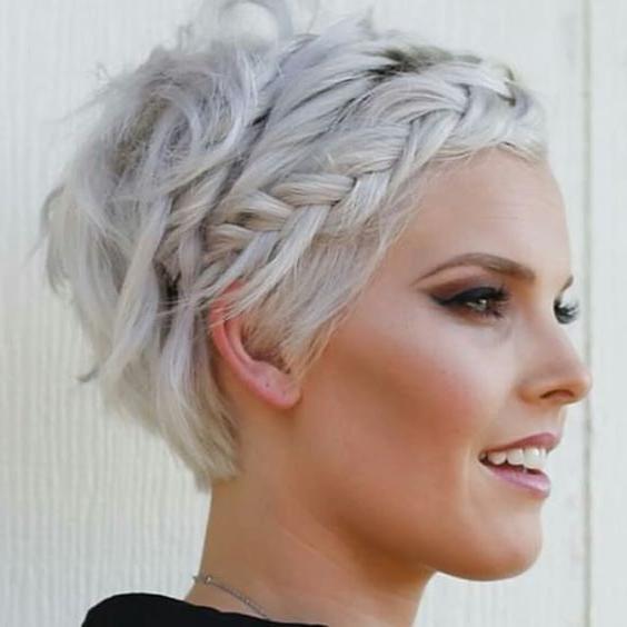 Platinum Blonde + Short | These Locks (View 3 of 20)
