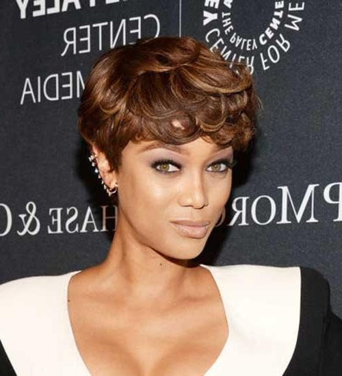 Popular Celebs With Short Hair | Short Hairstyles 2016 – 2017 For Tyra Banks Short Hairstyles (View 9 of 20)