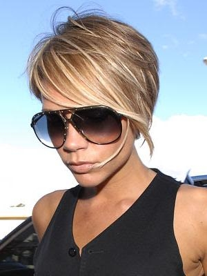 Posh Spice Hairstyle » Victoria Beckham Fansite Pertaining To Posh Spice Short Hairstyles (View 13 of 20)