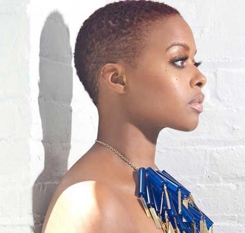 Really Pretty Short Haircuts For Black Women | The Best Short Pertaining To Very Short Haircuts For Black Women (View 16 of 20)