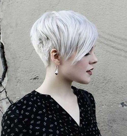 Really Trendy Asymmetrical Pixie Cut | Short Hairstyles 2016 For Asymmetrical Short Hairstyles (View 10 of 20)