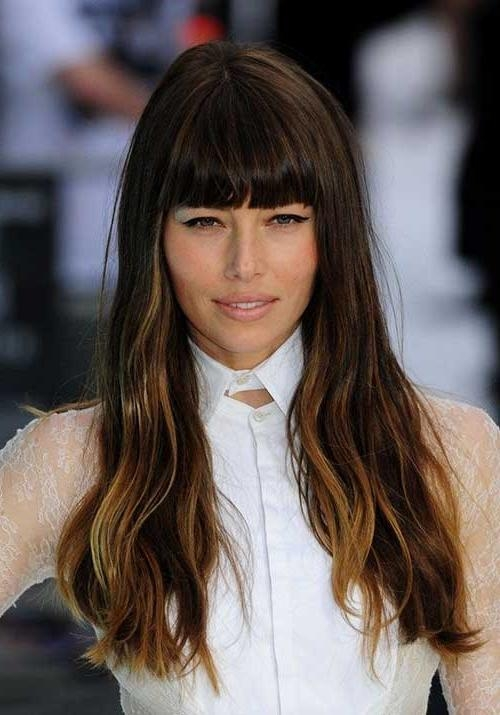 Recent Bang Long Hairstyles Throughout 25 Beautiful Long Hairstyles With Bangs (View 11 of 20)