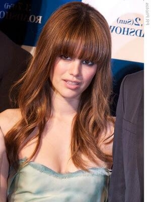 Recent Bangs Long Hairstyles With 12 Trendy Ideas For Long Hair With Bangs | Hasil (View 18 of 20)