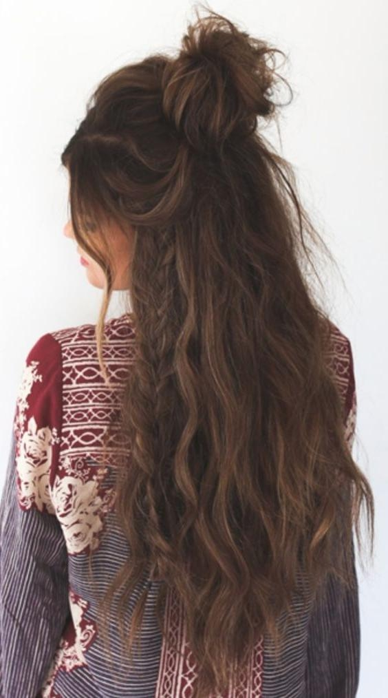 Recent Boho Long Hairstyles With The 25+ Best Long Braids Ideas On Pinterest | Long Braided (View 20 of 20)