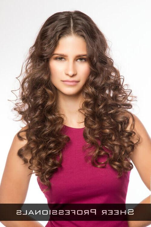 Recent Curly Long Hairstyles For Round Faces For 22 Foolproof Long Hairstyles For Round Faces You Gotta See (View 13 of 15)