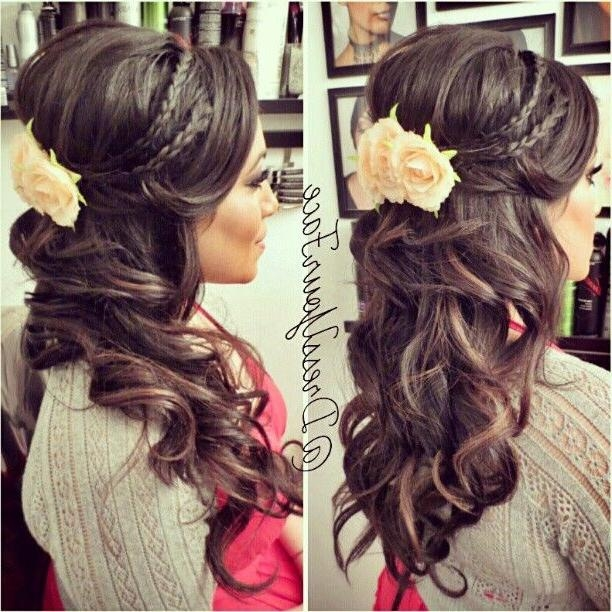 Recent Elegant Long Hairstyles For Weddings For 46 Best Hairstyles Images On Pinterest | Braids, 15 Years And Chignons (View 16 of 20)