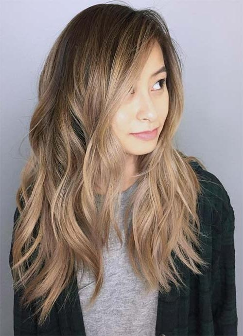 Recent Face Framing Long Hairstyles Throughout 101 Layered Haircuts & Hairstyles For Long Hair Spring (View 7 of 20)