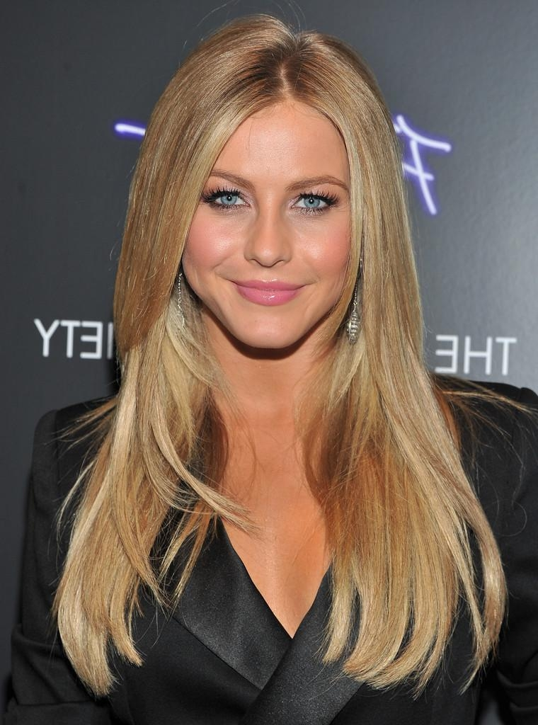 Recent Julianne Hough Long Hairstyles Regarding Julianne Hough Layered Cut – Julianne Hough Long Hairstyles Looks (View 15 of 15)