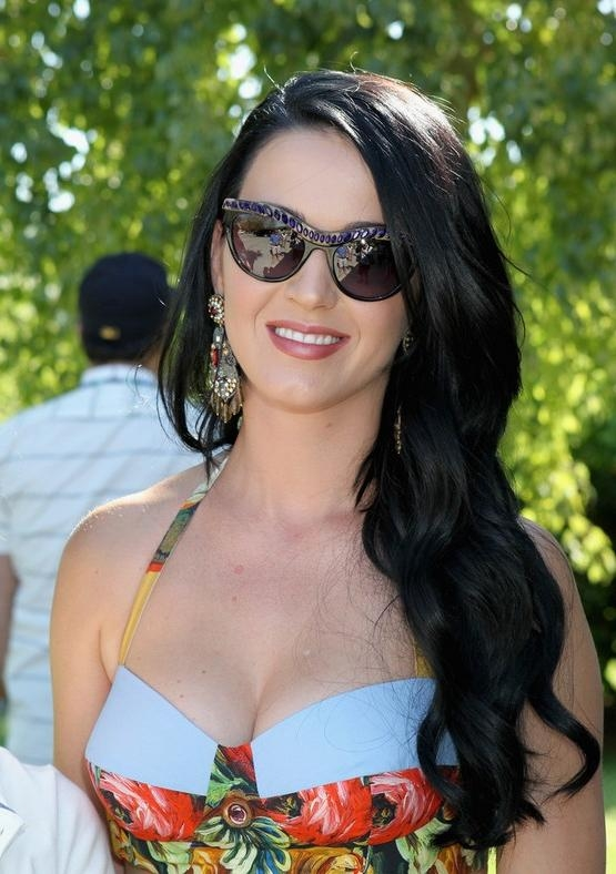 Recent Katy Perry Long Hairstyles Intended For Perry Long Hairstyle  (View 14 of 15)
