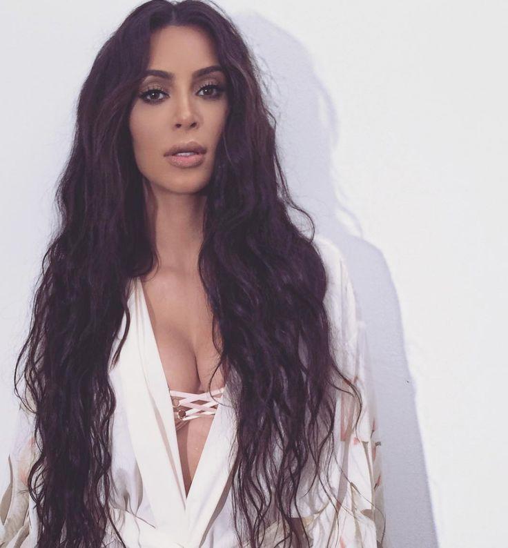 Recent Kim Kardashian Long Hairstyles Within The 25+ Best Kim Kardashian Long Hair Ideas On Pinterest | Big (View 20 of 20)
