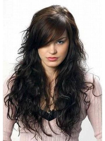 Recent Long Bangs Hairstyles Long Hair In Más De 25 Ideas Increíbles Sobre Long Bangs Hairstyles Sideswept (View 18 of 20)