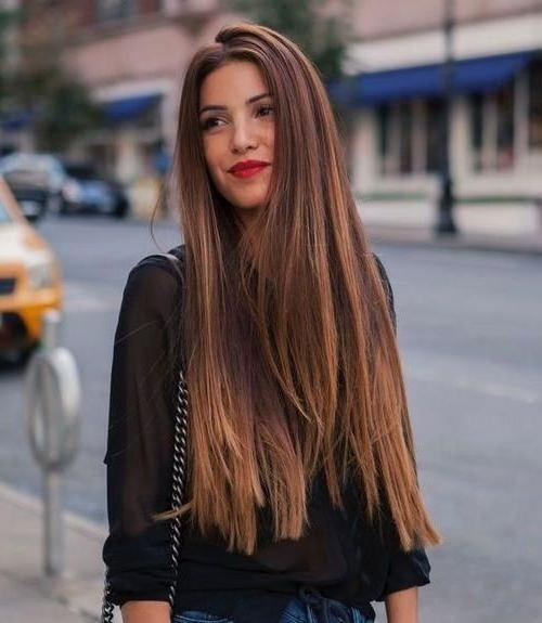 Recent Long Haircuts For Thick Hair With Regard To 15 Collection Of Long Hairstyles Thick Hair (View 14 of 15)