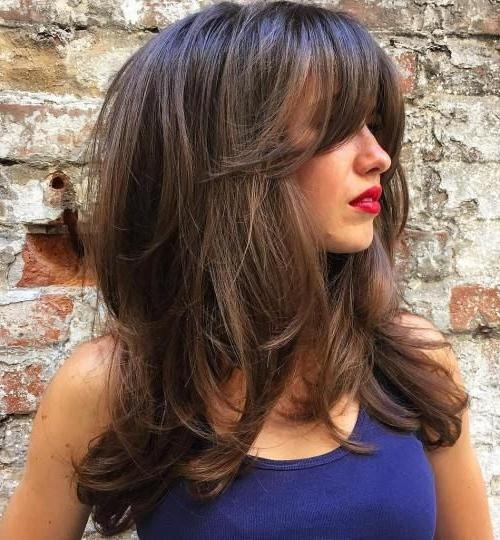 Recent Long Haircuts Layered Styles In 25+ Trending Long Hair With Layers Ideas On Pinterest | Hair (View 14 of 15)