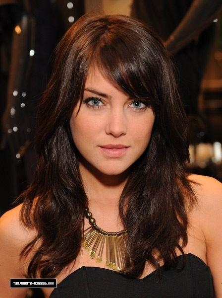 Recent Long Haircuts Side Bangs In Best 25+ Side Bangs Long Hair Ideas On Pinterest | Long Hair (View 15 of 15)