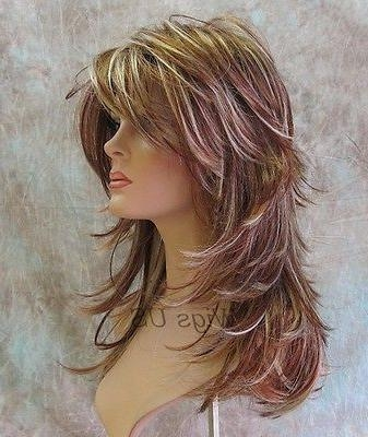 Recent Long Haircuts With Lots Of Layers With 25+ Unique Long Choppy Layers Ideas On Pinterest | Long Choppy (View 14 of 15)