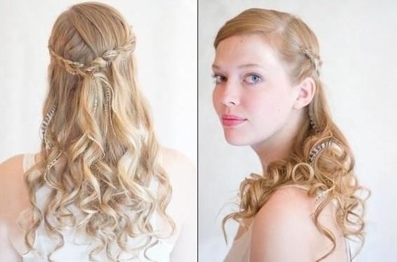 Recent Long Hairstyles Bridesmaids Pertaining To Long Hairstyles Bridesmaids – Hairstyle Foк Women & Man (View 20 of 20)