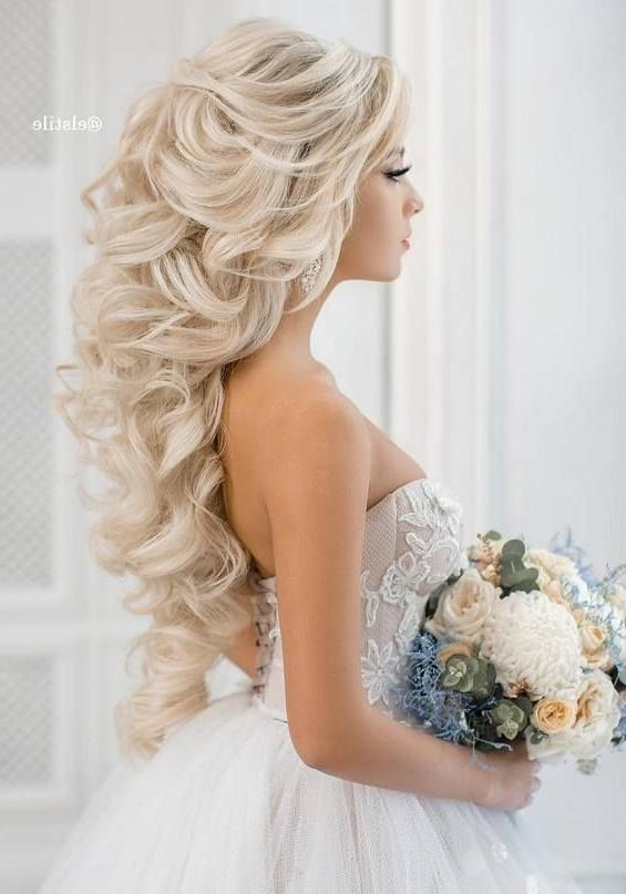 Recent Long Hairstyles For Brides Pertaining To Best 25+ Long Wedding Hairstyles Ideas On Pinterest | Wedding (View 18 of 20)