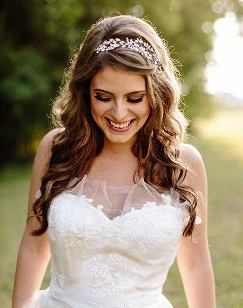 Recent Long Hairstyles For Brides With Regard To 25+ Hair Styles For Brides | Long Hairstyles 2016 –  (View 19 of 20)