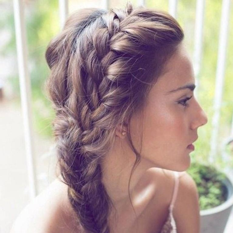 Recent Long Hairstyles For Bridesmaids Intended For 50 Hairstyles For Bridesmaids: Wedding Inspiration (View 13 of 20)