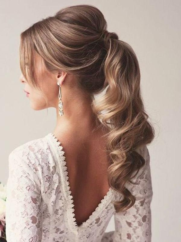 Recent Long Hairstyles For Evening Wear Throughout Best 25+ Ball Hairstyles Ideas On Pinterest | Ball Hair, Formal (View 8 of 20)