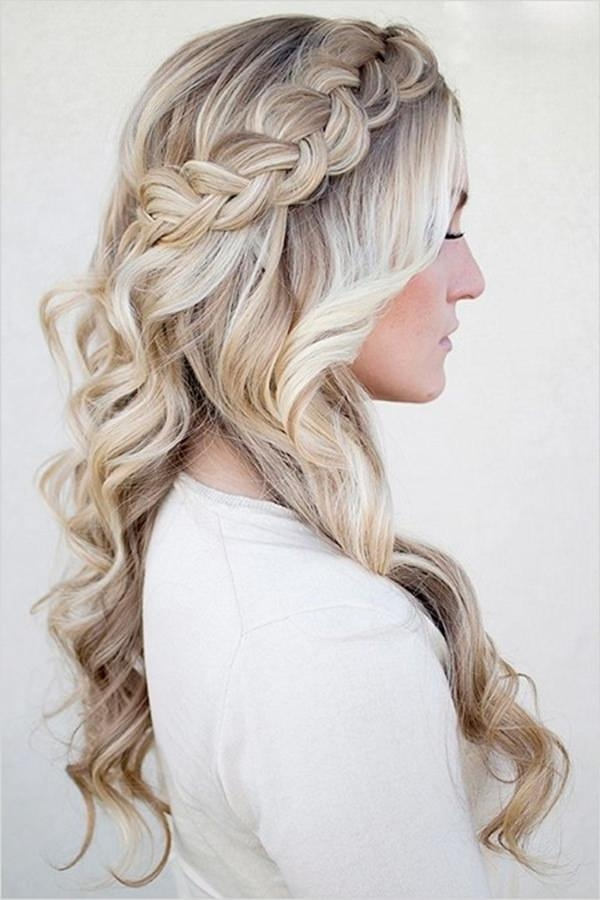 Recent Long Hairstyles For Homecoming Pertaining To 34 Easy Homecoming Hairstyles For 2017 Short,medium & Long (View 20 of 20)