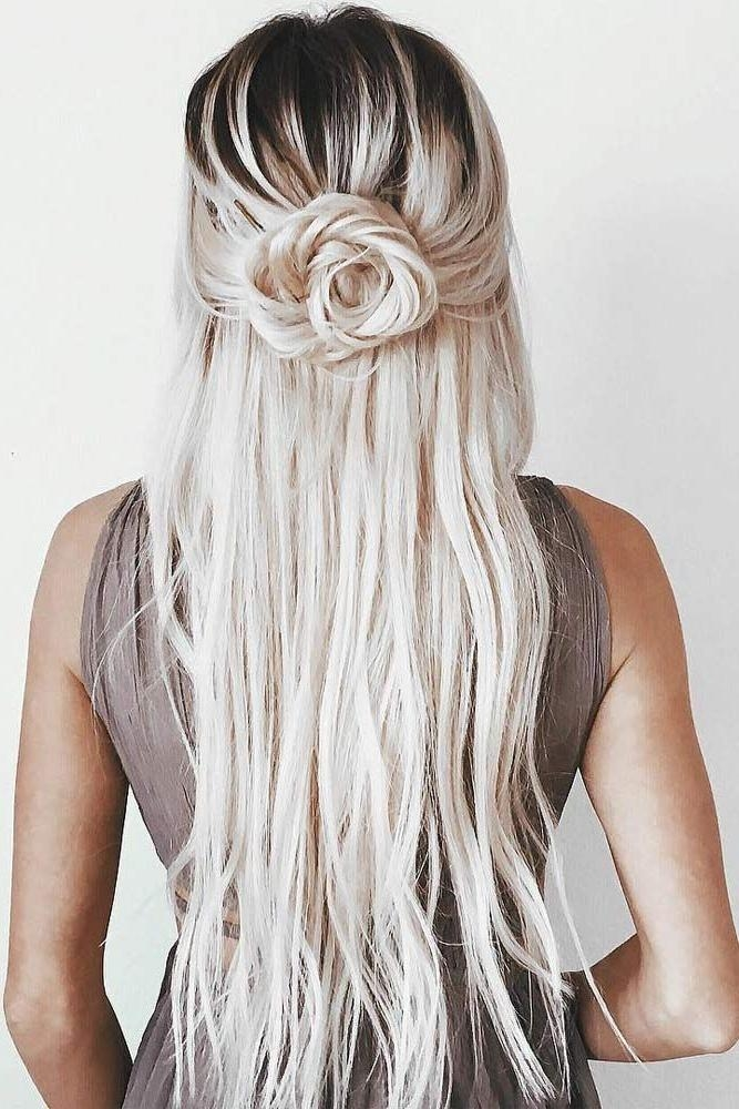 Recent Long Hairstyles For Special Occasions Throughout 25+ Trending Rose Hairstyle Ideas On Pinterest | Rose Braid, Hair (View 13 of 15)
