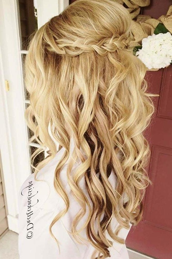 Recent Long Hairstyles Formal Occasions In Best 25+ Prom Hair Down Ideas On Pinterest | Wedding Hairstyles (View 19 of 20)
