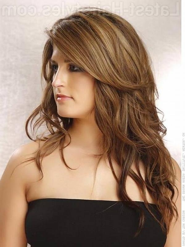 Recent Long Hairstyles With Layers For Thick Hair Within Hairstyles For Long Thick Hair – 2017 Creative Hairstyle Ideas (View 10 of 20)