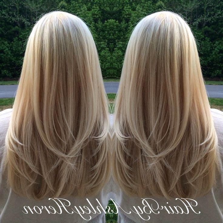Recent Long Hairstyles Without Layers In Best 25+ Blonde Layered Hair Ideas On Pinterest | Long Layered (View 15 of 15)