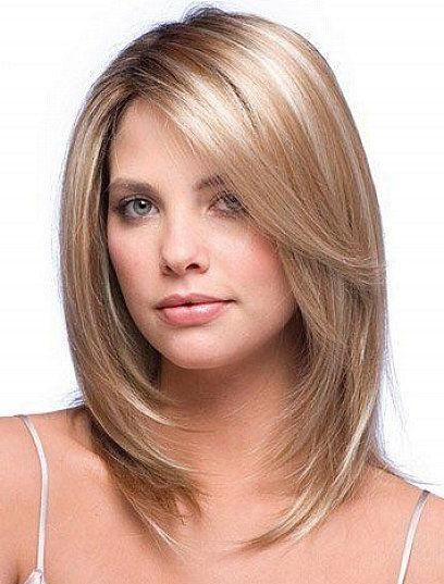 Recent Medium Long Haircuts With Side Bangs Throughout Best 25+ Blonde Side Bangs Ideas On Pinterest | Hair Side Bangs (View 15 of 15)