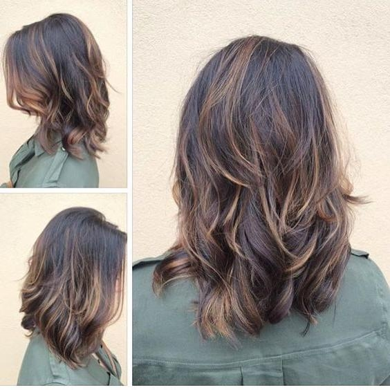 Recent Medium Long Hairstyles With Layers Throughout Best 25+ Medium Layered Hairstyles Ideas On Pinterest | Layers For (View 20 of 20)