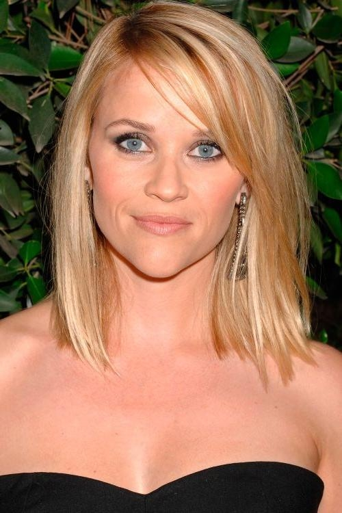 Photo Gallery Of Medium To Long Haircuts For Thin Hair Viewing 6 Of