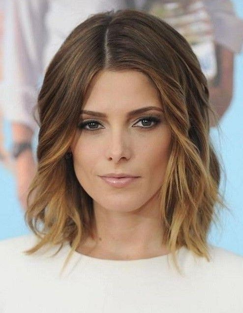 Recent Medium To Long Hairstyles For Thin Hair Within Best 25+ Medium Fine Hair Ideas On Pinterest | Style Fine Hair (View 10 of 20)
