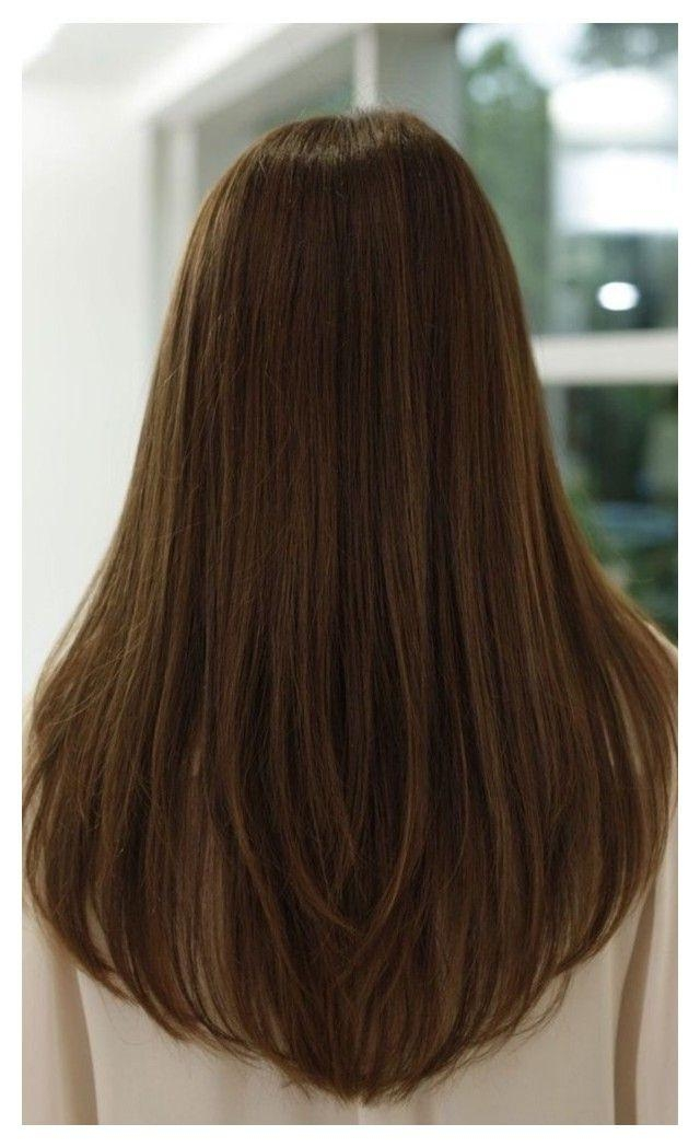 Recent One Length Long Haircuts Throughout Best 25+ One Length Hair Ideas On Pinterest | Wavy Shoulder Length (View 15 of 15)