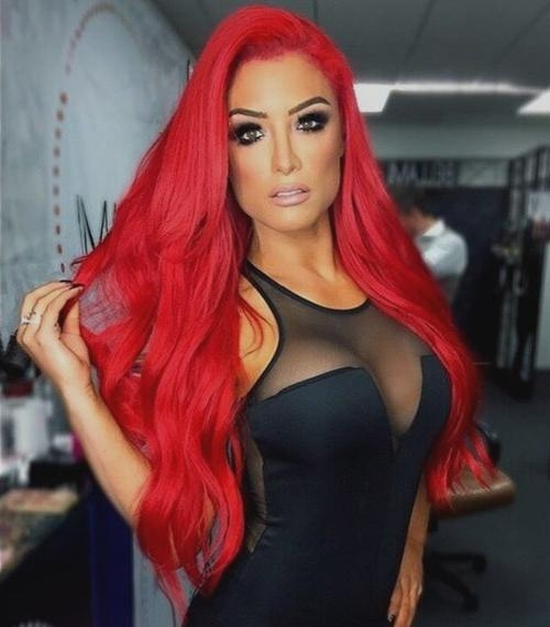 Recent Red Long Hairstyles Regarding Red Hair Color Ideas – 20 Hot Red Hairstyles For You To Choose (View 17 of 20)