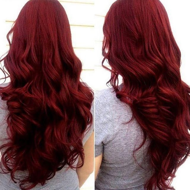 Recent Red Long Hairstyles With 25+ Trending Long Red Hair Ideas On Pinterest | Red Hair (View 19 of 20)