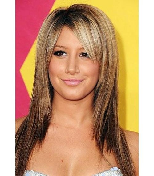 Recent Side Fringe Long Hairstyles For Long Choppy Hairstyles With Side Fringe – Hairstyle Foк Women & Man (View 20 of 20)