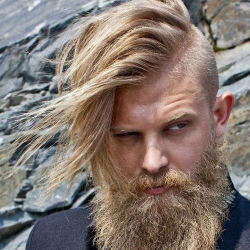Recent Side Shaved Long Hairstyles In Shaved Sides Hairstyles For Men | Men's Hairstyles + Haircuts (View 18 of 20)