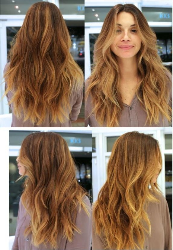 Recent Textured Long Haircuts In The 25+ Best Long Textured Hair Ideas On Pinterest | Brown Lob (View 14 of 15)