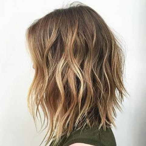 Recent Textured Long Haircuts Regarding Best 25+ Textured Lob Ideas On Pinterest | Lob Haircut, Medium (View 15 of 15)