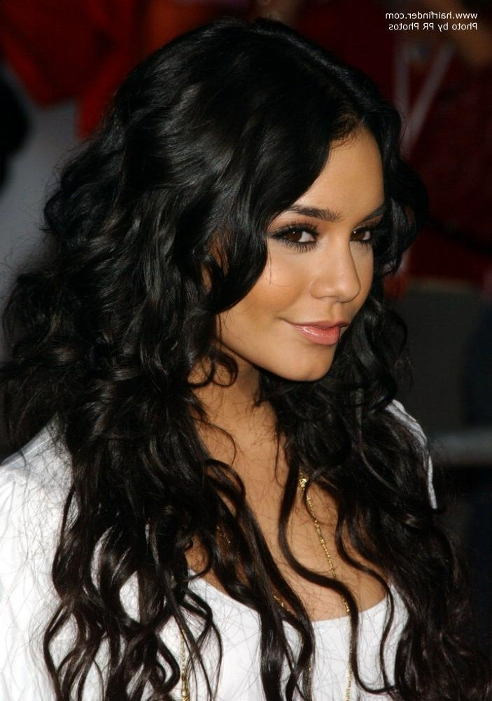 Recent Vanessa Hudgens Long Hairstyles For Vanessa Hudgens | Long Wavy Hairstyle With Gypsy Elements (View 18 of 20)
