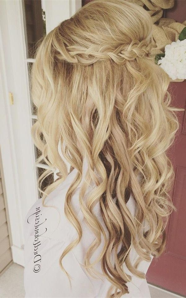Recent Wedding Long Hairstyles Within Best 25+ Long Wedding Hairstyles Ideas On Pinterest | Wedding (View 20 of 20)