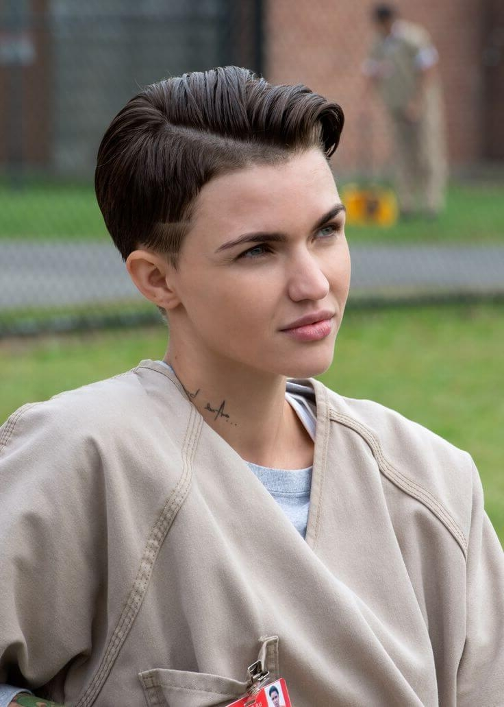 Ruby Rose's Rockin' Hairstyles – Crazyforus Pertaining To Ruby Rose Short Hairstyles (View 9 of 20)
